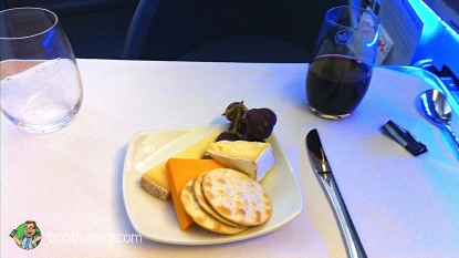Plateau de fromages Air Canada